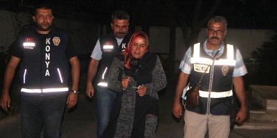 Konya'da Kan donduran cinayet! Kocasını keserle öldürdü