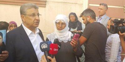 TBB Diyarbakır'da acılı annelerle nöbet tuttu