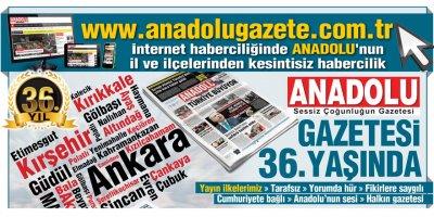 Anadolu Gazetesi 36 yaşında