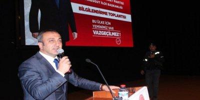 MHP'li Çetinkaya: Barış Pınarı Harekatı uyuşturucu bataklığını darbe vuracak