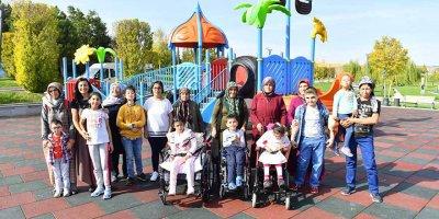 Ankara Büyükşehir Belediyesi engelli oyun parkı sayısını artırıyor