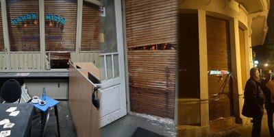 Terör örgütü sempatizanları, Almanya'da Türk dükkanlarına saldırdı