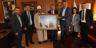 Derneklerden Başkan Demirel'e ziyaret