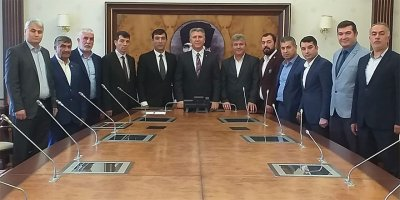 Başkentteki Yozgatlılardan Vali Yardımcısı Dölek'e ziyaret
