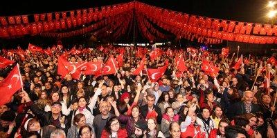 Çankaya'dan Cumhuriyet Haftası kutlaması