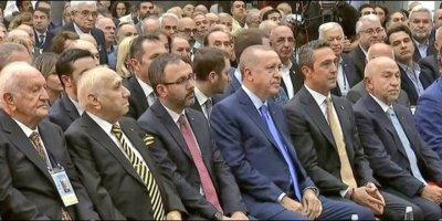 Cumhurbaşkanı Erdoğan, Fenerbahçe Divan Kurulu'na geldi