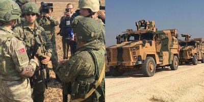Suriye'de Türkiye-Rusya devriyesi başladı