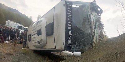 Ankara'da korkunç kaza: 30 yaralı