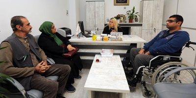 Engelliler Yenimahalle'de nefes alıyor