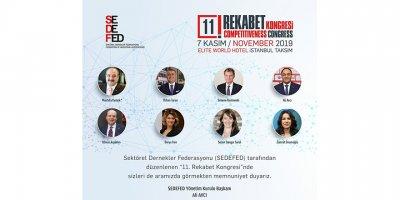 11. Rekabet kongresi Türk iş dünyasını buluşturacak