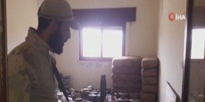 SMO, teröristlere ait mühimmat ele geçirdi