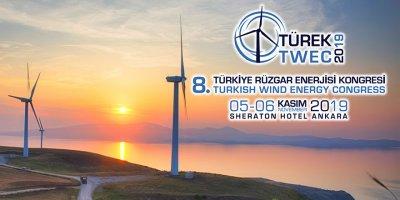 Türkiye Rüzgar Enerjisi Kongresi Ankara'da başlıyor