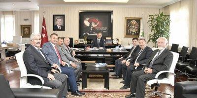 Amatörlerden Başkan Köse'ye ziyaret