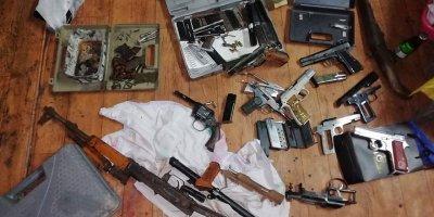Ankara Organize ekipleri kaçak silah üreticilerine operasyon düzenledi