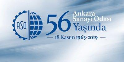 Ankara Sanayi Odası 56. yaşını kutluyor
