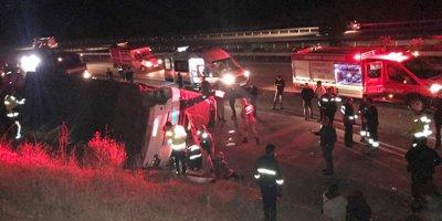 Şoför direksiyon başında kalp krizi geçirdi: 27 yaralı