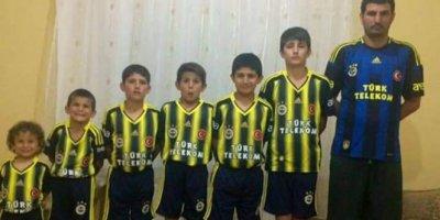 Bu da fanatik Fenerbahçeli ailesi