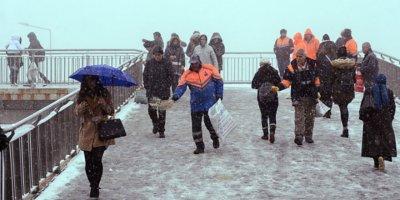 Meteorolojiden bazı illere kar yağışı uyarısı