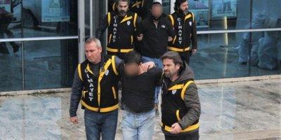 Polisİ başından vuran zanlı tutuklandı