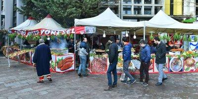 Gaziantep'in lezzetleri Ankara'ya taşındı