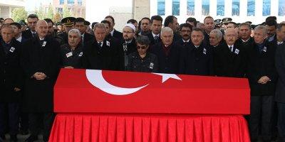 Ankara şehidi son yolculuğuna uğurlandı