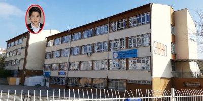 Keçiören'deki bir okulda şoke eden ölüm