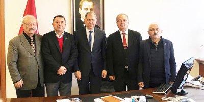 ÇAĞDEP'ten Kerimoğlu, Akman ve Aktepe'ye ziyaret