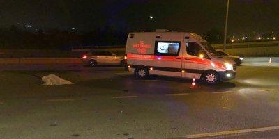 Yaya otomobil çarptı bir ölü