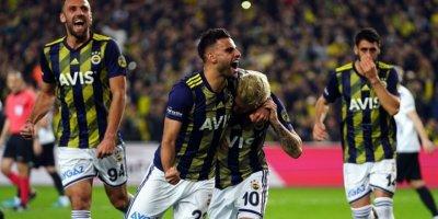 Fenerbahçe Beşiktaş derbisinde üçledi