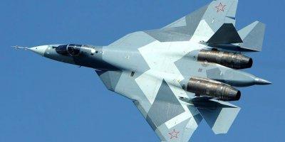 Rus Su-57 savaş uçağı, test uçuşunda düştü