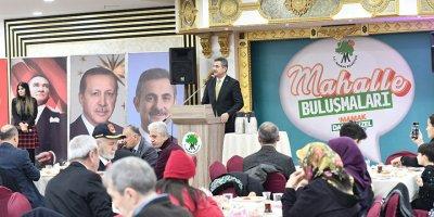 Başkan Köse şehit yakınları ve gazilerle kahvaltıda buluştu