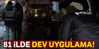 81 ilde eş zamanlı Türkiye Güven Huzur uygulaması