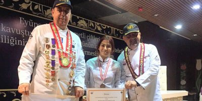 Mogan Mesleki Teknik Anadolu Lisesi madalyaya doymuyor