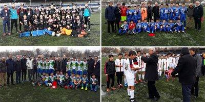U-14 Ligi'nde şampiyonlar belli olduğu