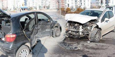 Ankara'da korkutan kaza