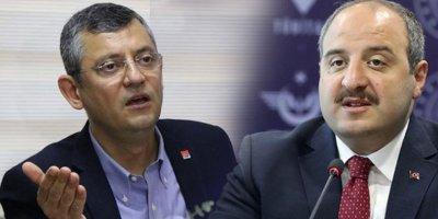 Bakan Varank'tan Özgür Özel'e sert tepki
