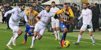 Başkentte gülen Konyaspor