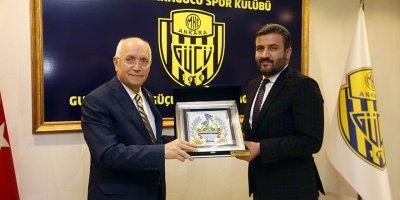 Başkan Yaşar'dan Ankaragücü'ne ziyaret