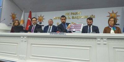 AK Parti Ankara'da kongre süreci başladı