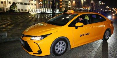 Altınok taksi direksiyonuna geçti