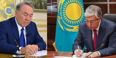 Kazakistan'dan destek taziye mektupları