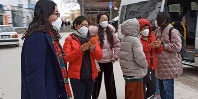 Aksaray'da korkulan olmadı: 10 Çinli turist ve 2 Türk taburcu edildi