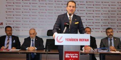 Fatih Erbakan'dan Kudüs açıklaması