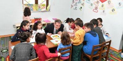 Ankara'da bir ilk! Bebek kütüphanesi Mamak'ta açıldı