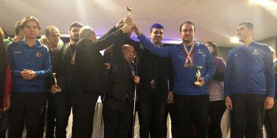 Çankaya satrançta Türkiye şampiyonu oldu