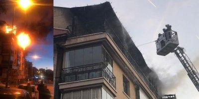 Keçiören'de bipolar rahatsızlığı olan adam evini ateşe verdi