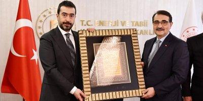 Hakan Han Özcan'dan Dönmez'e ziyaret