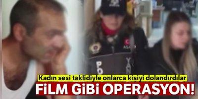 Ankara polisinden İstanbul'da film gibi operasyon