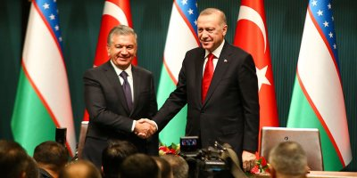 Erdoğan-Mirziyoyev yeni hedef koydu