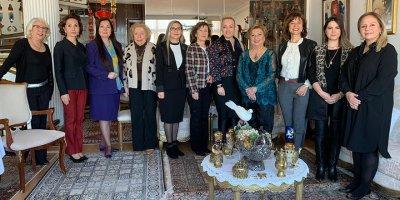 Mimar ve Turizmci Emel Uslu Atik'in başarısı kutlandı